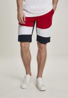 Southpole Shorts Color Block Tech Fleece Shorts Navy