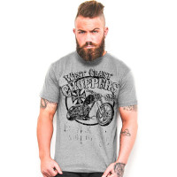 WCC West Coast Choppers T-Shirt El Diablo Grey