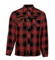 Bores Lumberjack Jacken-Hemd Red/Black