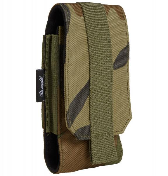 Brandit Tasche Molle Phone Pouch, medium in Woodland
