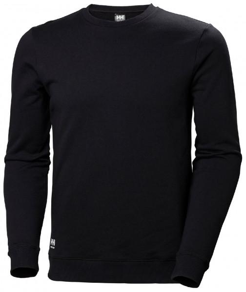 Helly Hansen Hoodie / Sweatshirt 79208 Manchester Sweatershirt 990 Black