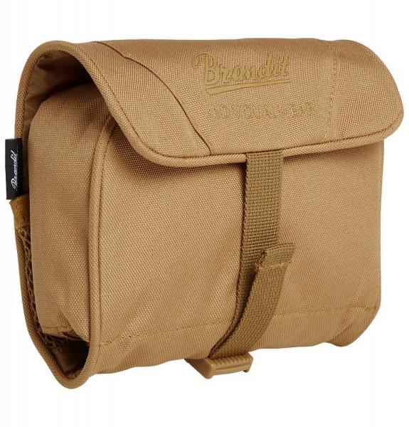 Brandit Tasche Toiletry Bag, medium in Camel