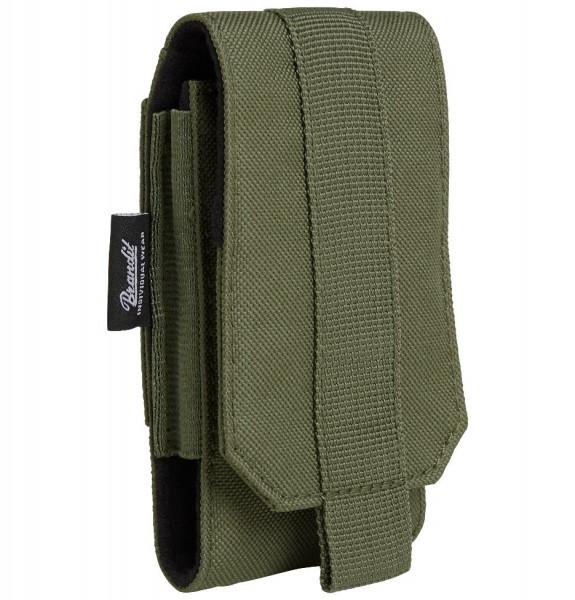 Brandit Tasche Molle Phone Pouch, medium in Olive