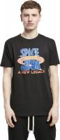Mister Tee T-Shirt Space Jam Logo Tee Black