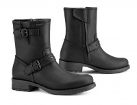 Falco Damen Motorrad Schuhe / Stiefel Dany 2 Wasserdicht Black