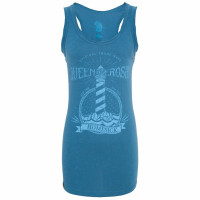 King Kerosin Female Shirt Homesick Longtop Blue