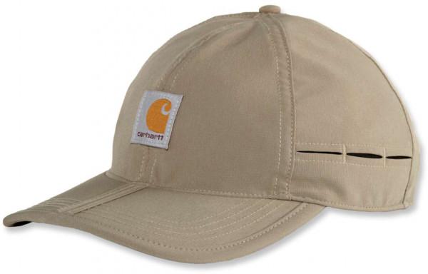 Carhartt Herren Mütze M Force Ext. Angler Packable Cap Desert
