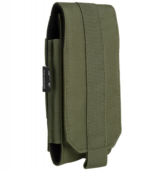 Brandit Tasche Molle Phone Pouch, large in Olive