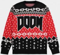 Doom - Knitted Christmas Jumper Multicolor