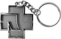 Rammstein T-Shirt Rammstein Logo Schlüsselanhänger Grey