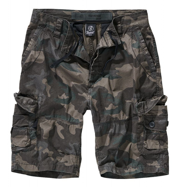 Brandit Ty Shorts in Darkcamo
