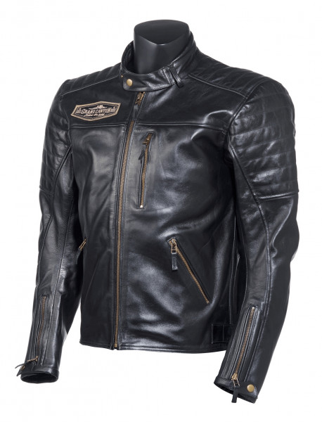 Grand Canyon Lederjacke Ramsey Jacke Black