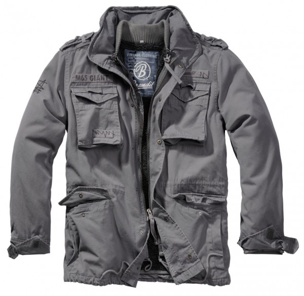 Brandit Jacke M65 Giant in Charocal Grey