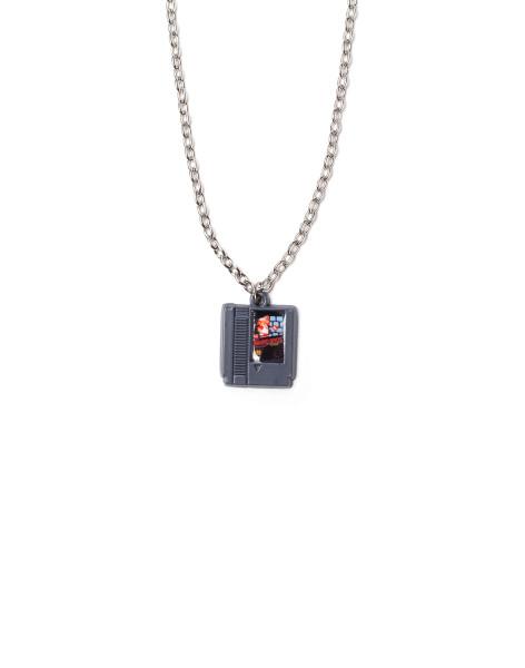 Super Mario Necklaces Nintendo - Cartridge Necklace Silver