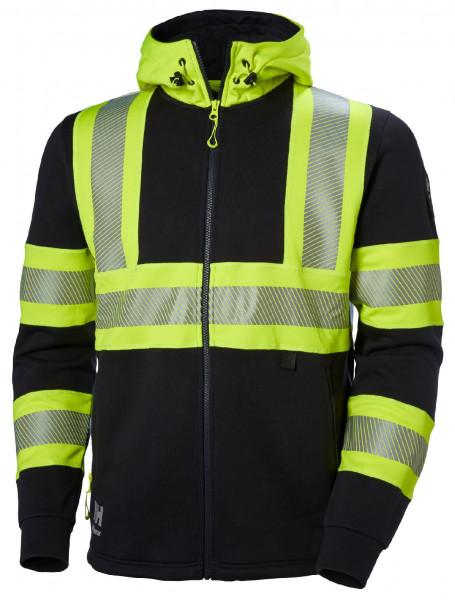 Helly Hansen Hoodie / Sweatshirt 79273 Icu Hoodie 369 Yellow/Ebony