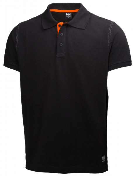 Helly Hansen T-Shirt 79025 Oxford Polo 990 Black