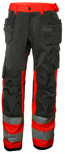 Helly Hansen Shorts / Hose 77412 Alna Cons Pant Cl 1 169 HV Red/Charcoal