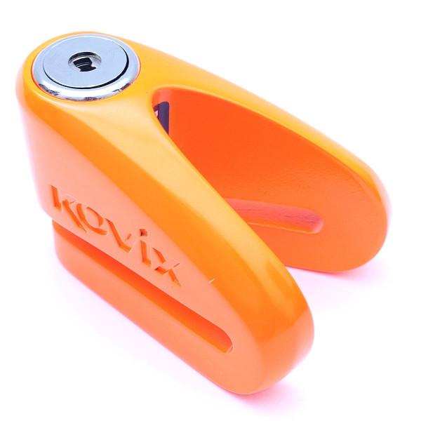 Kovix Kvz2 14mm Pin Bremsscheibenschloss Orange