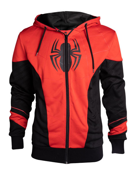 Spiderman - Red & Black Outfit Men's Hoodie Multicolor