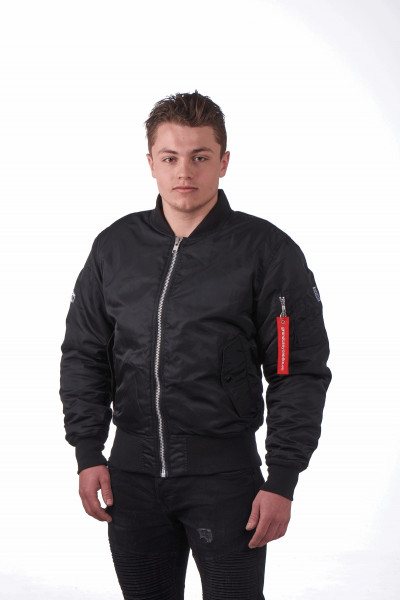 Grand Canyon Jacke Bomber Jacke Black