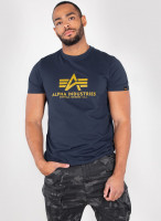 Alpha Industries Basic T-Shirt New Navy