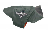 Alpha Industries Dog MA-1 Nylon Flight Jacket Haustiere Sage-Green