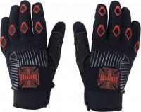 WCC West Coast Choppers Handschuhe Por Vida Black/Red