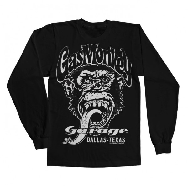 Gas Monkey Garage Longsleeve Dallas, Texas Black
