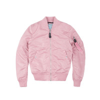 Alpha Industries Damen Jacke MA-1 VF LW Women Silver Pink