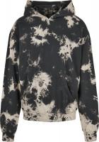 Urban Classics Sweatshirt Bleached Hoody Black