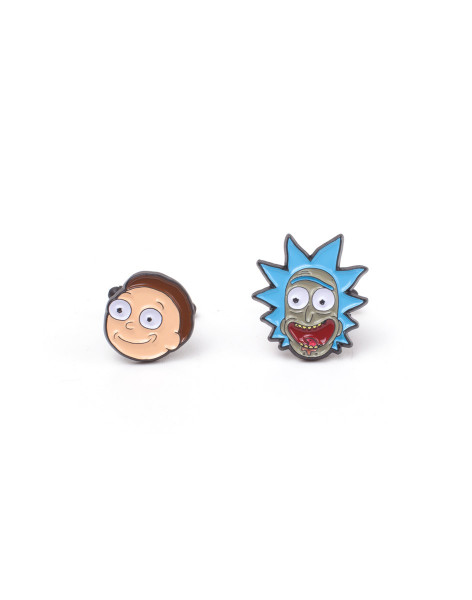 Rick and Morty Cufflinks Rick & Morty - Rick & Morty Cufflinks Multicolor