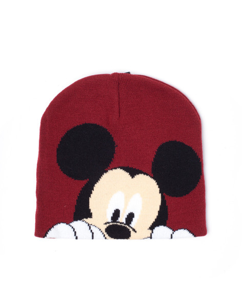 Mickey Mouse Beanies Disney - Mickey Mouse Magic Jacquard Beanie Brown