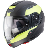 Caberg Motorrad Klapphelm Levo Prospect Matt Schwarz/Fluo-Gelb