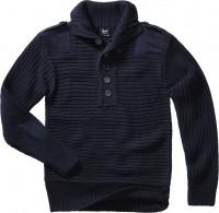 Brandit Men Alpin Pullover Navy