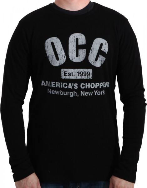 OCC Orange County Choppers Longsleeve Thermal Black