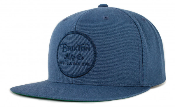 Brixton Cap Wheeler Snapback Ocean
