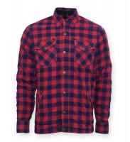 Bores Lumberjack Jacke Hemd in Holzfäller Optik Red/Blue