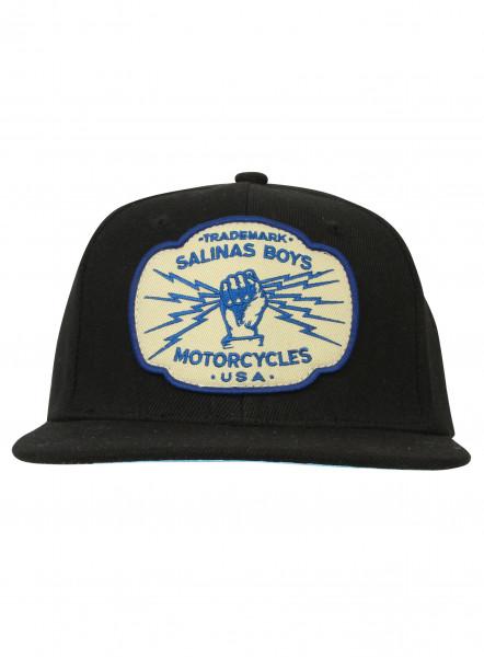 Salinas Boys Cap Trademark Logo Black