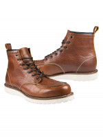 John Doe Motorrad Schuhe Rambler Cognac Brown