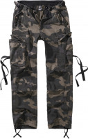 Brandit Damen Hose Ladies M-65 Cargo Pants Darkcamouflage