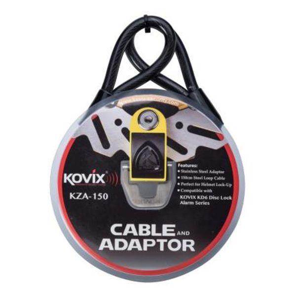 Kovix Sicherheits Kabel und Adapter Set für Kd6 - 150 cm