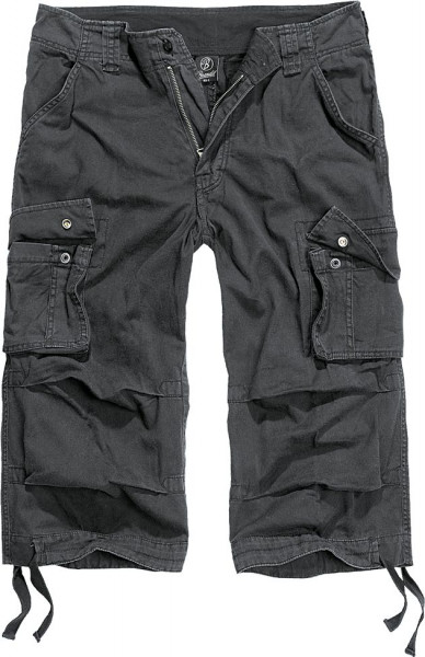 Brandit Shorts Urban Legend 3/4 Trouser in Black