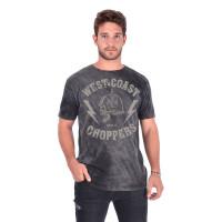 WCC West Coast Choppers T-Shirt At Helmet Vintage Black