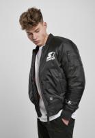 Starter Black Label Jacket Starter The Classic Logo Bomber Jacket Black