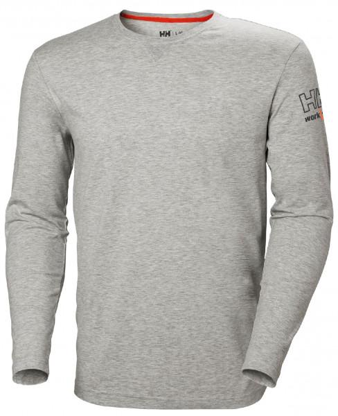 Helly Hansen Hoodie / Sweatshirt 79242 Kensington Longsleeve 930 Grey Melange