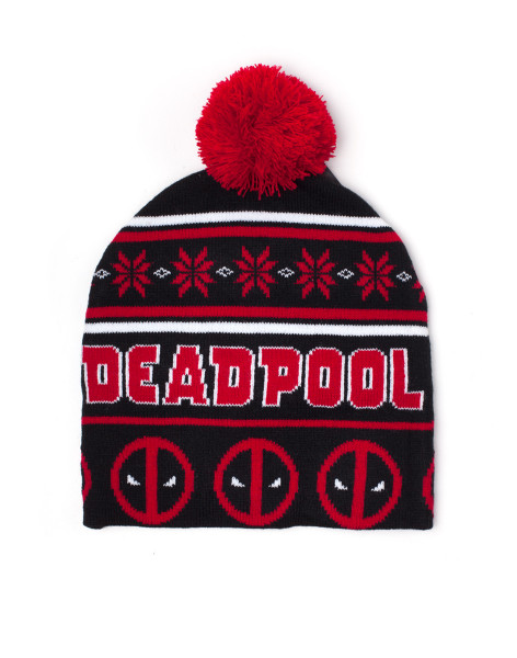 Deadpool Beanies Deadpool - Christmas Beanie Red