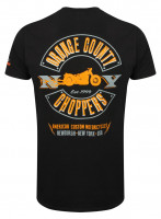 OCC Orange County Choppers T-Shirt Lightning Black