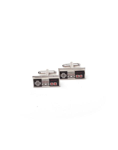 Nintendo Cufflinks Nintendo - Controller Cufflinks Silver
