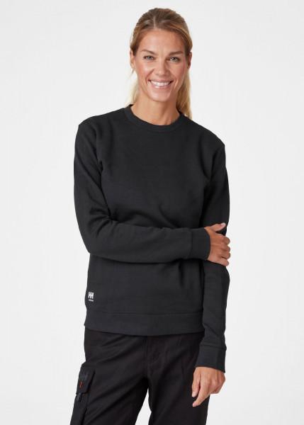 Helly Hansen Female Hoodie / Sweatshirt 79209 W Manchester Sweater 990 Black
