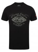 OCC Orange County Choppers T-Shirt Custom Build Bars Black